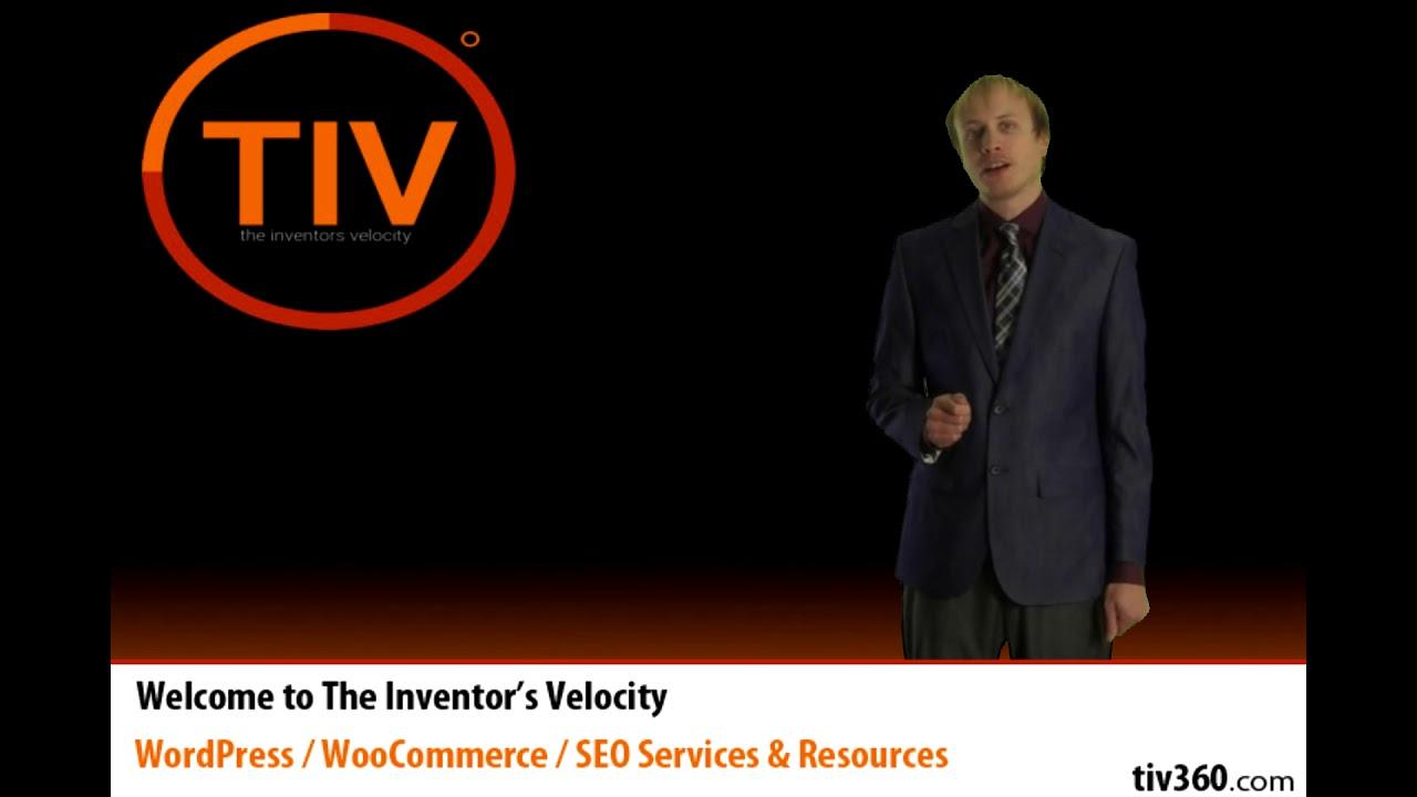 The Inventor's Velocity Intro Video