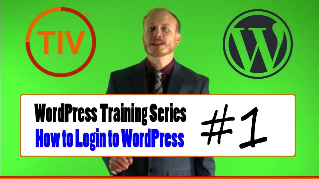 WordPress Training Series - How to Login to WordPress