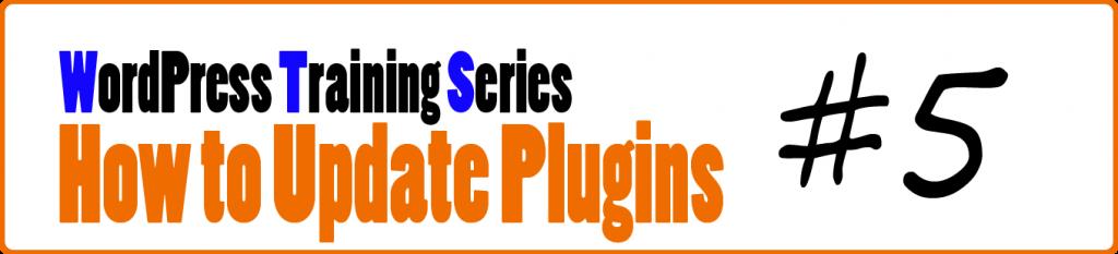 WordPress Training Series 5 How to Update Plugins in WordPress
