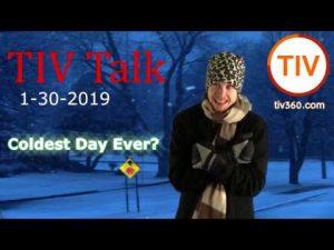 TIV Talk – Coldest Day Ever? Social Media Work Day!