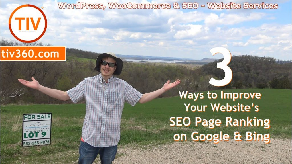 3 Ways to Improve Your Websites SEO Page Ranking on Google and Bing